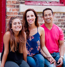 Chiropractor Bloomington IL Amyas Kabir and Family